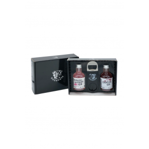 Mini Pink Gin + Damson Gin Gift Box by Doghouse Distillery